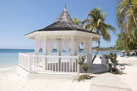 picture of wedding or honeymoon gazebo