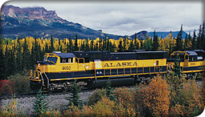 picture of alaska train, a vacation option