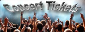 picture of concert tickets banner