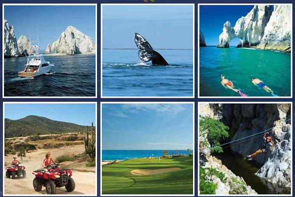picture of various activities available at some of the all-inclusive resorts
