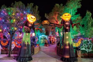 image of scary town for Las Vegas Halloween