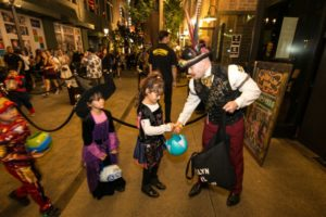 image of LINQ Promenade for Las Vegas Halloween