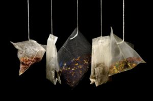 picture of herbal tea bags to help you sleep on a plane