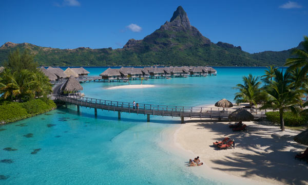 picture of a trip of a lifetime to BoraBora that you might want to consider getting travel insurance.